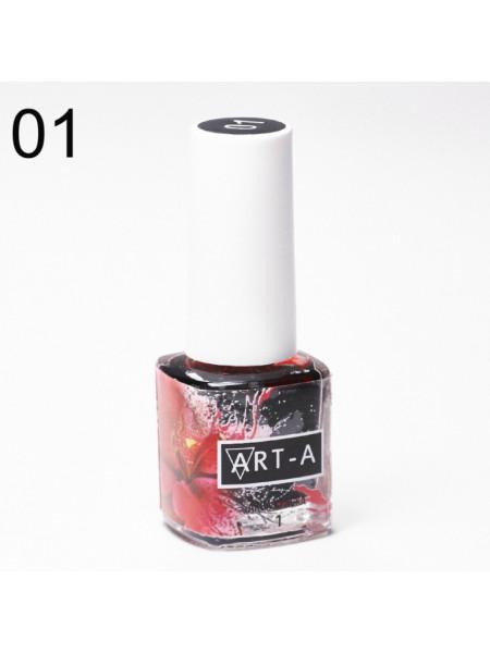 Art-A Аква краска, 01, 5 ml