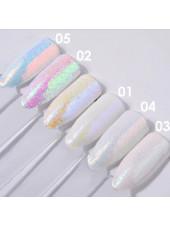 Глиттер для дизайна ногтей Crystal №2