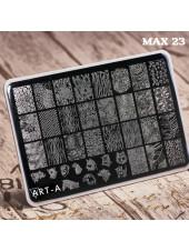 Пластина для стемпинга Art-A MAX 23-48