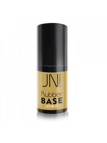 JN База для гель-лака каучуковая Rubber Base 10 мл.