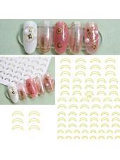 3D наклейки для дизайна ногтей №656