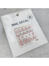 3D наклейки для дизайна ногтей №84