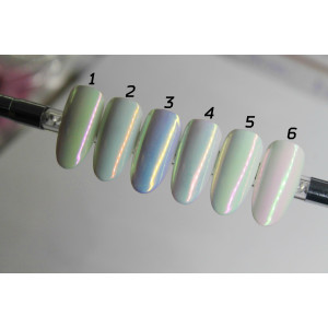 Радужный пигмент для дизайна ногтей №4