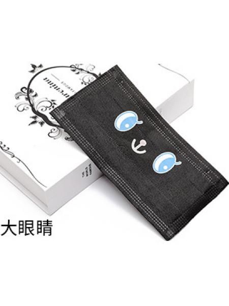 Маска 3-х слойная c принтом (упаковка 10 штук) №5
