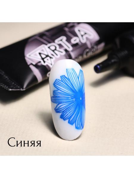 Гель паста для стемпинга Art-A синяя