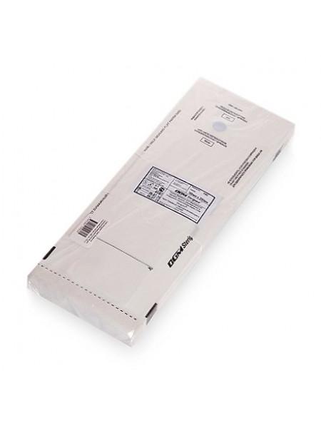 """Пакет бумажный самозапечатывающийся для стерилизации """"DGM Steriguard"""" 100х250 мм. (Белые) 100шт."""