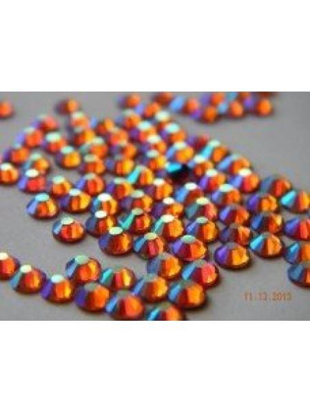 Стразы AB (ГОЛОГРАФИК) Hyacinth ss6. Упаковка 1440 шт.