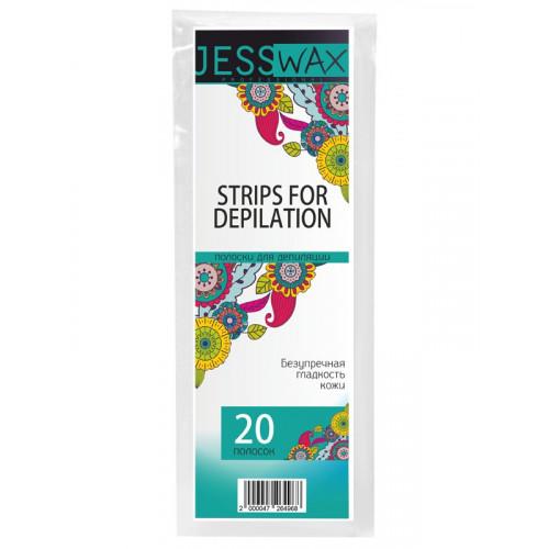 Полоски для депиляции JN JessWax 7x20 см (20 шт./пачка) в  Калининграде
