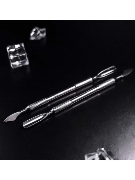 Лопатка маникюрная EXPERT PE - 10 TYPE 2 (скругленный пушер+топорик). Staleks